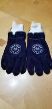 New Shelby Firefighters Gloves Midnight Blue Cowhide Med
