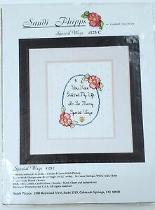 Sandi Phipps Counted Cross Stitch Kit #123C Special Ways NEW Sealed