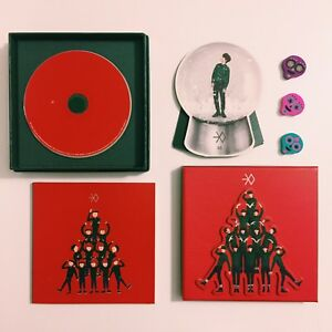 Exo Christmas Album Cover.Exo Miracles In December Album Cover