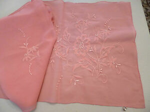 Pink-Scarf-Madeira-Hand-Embroidered-NEW