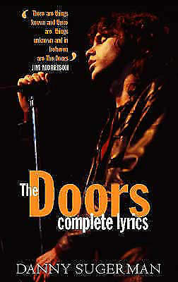 1 of 1 - The Doors: complete lyrics, Danny Sugerman, Very Good Book