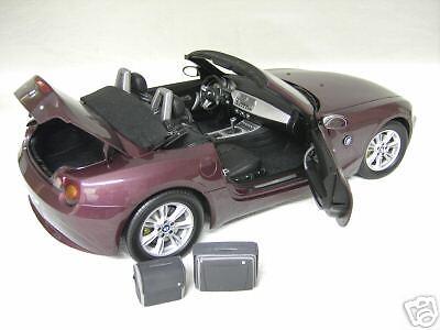 BMW  Z4 cabriolet convertible violet au 1 12 KYOSHO voiture miniature collection