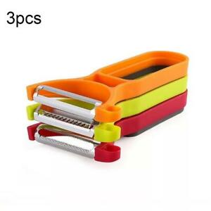 Magic-3pcs-Peeler-Set-Trio-Peeler-Slicer-Shredder-Potato-Fruit-Vegetable-Cutter