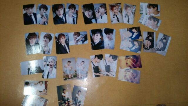 BTS Bangtan PHOTO CARD ((1)) - IN THE MOOD FOR LOVE - ANXIETY + SELF Vol.1 -