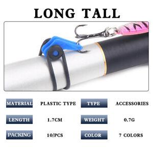 Fishing-Rod-Pole-10Pcs-Set-Plastic-Fishing-Hook-Keeper-Fishing-Safety-Holder-Hot