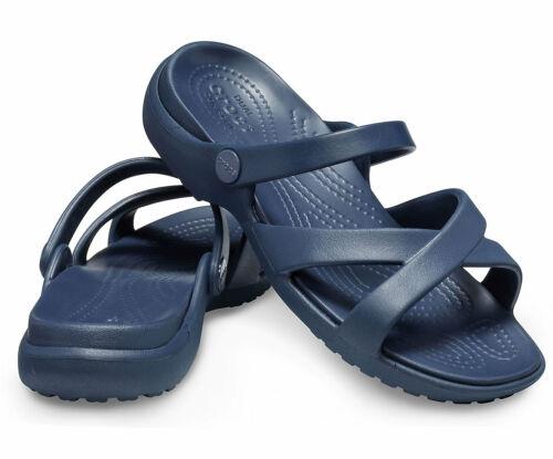 Crocs Damen Meleen Crossband Sandale Kult Crocs Ganzen Tag Komfort