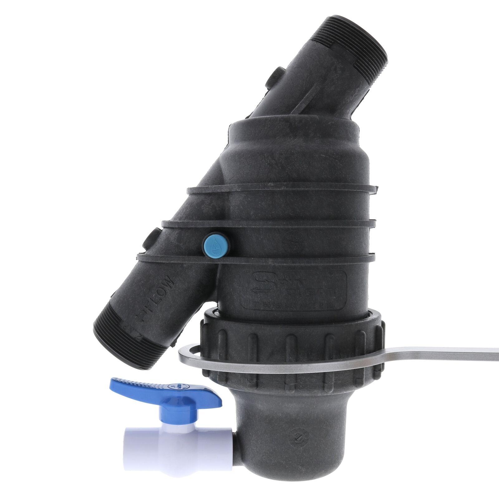 Jain Spin Clean High Flow Filters-Größe 2  Pipe Thread-Filtration 150 Mesh