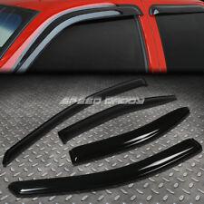 For 05 10 Pontiac G6 Smoke Tint Side Window Visor Shadesun Windrain Deflector Fits Pontiac G6