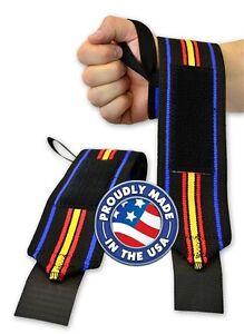 Fitness Sport Brace Wraps Powerlifting Wrist Bandage Bracers Support Equipment Q