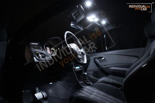 Pure-White LED Innenraumbeleuchtung SET für VW Polo 6R 3-Türer