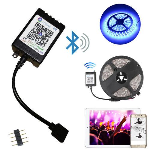 1x LED Bluetooth Controller Music//Light Remote Fit 5050//3528 RGB LED Strip Light