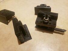 Bxa Quick Change Tool Post Holder Set 4 Pieces Qctp Mount Lathe Tool Mount