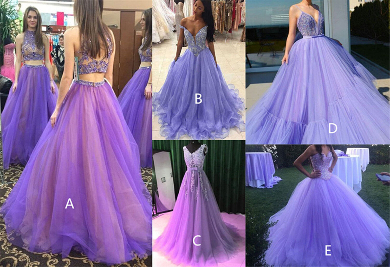 Sexy Purple 16 Quinceanera Dress Sleeveless Pageant Party Evening Prom Ball Gown
