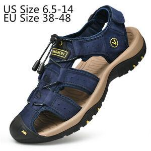 Men's Athletic Adventurous Summer Outdoor Sport Sandals Slides Beach Water  Shoes | eBay