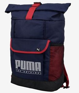 d1f7257b1 PUMA SOLE Plus Backpack Bags Sports Navy Unisex Casual School GYM ...