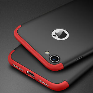 For-iPhone-6-7-Plus-Shockproof-Hard-Matte-Armor-Case-Ultra-Thin-360-Hybrid-Cover