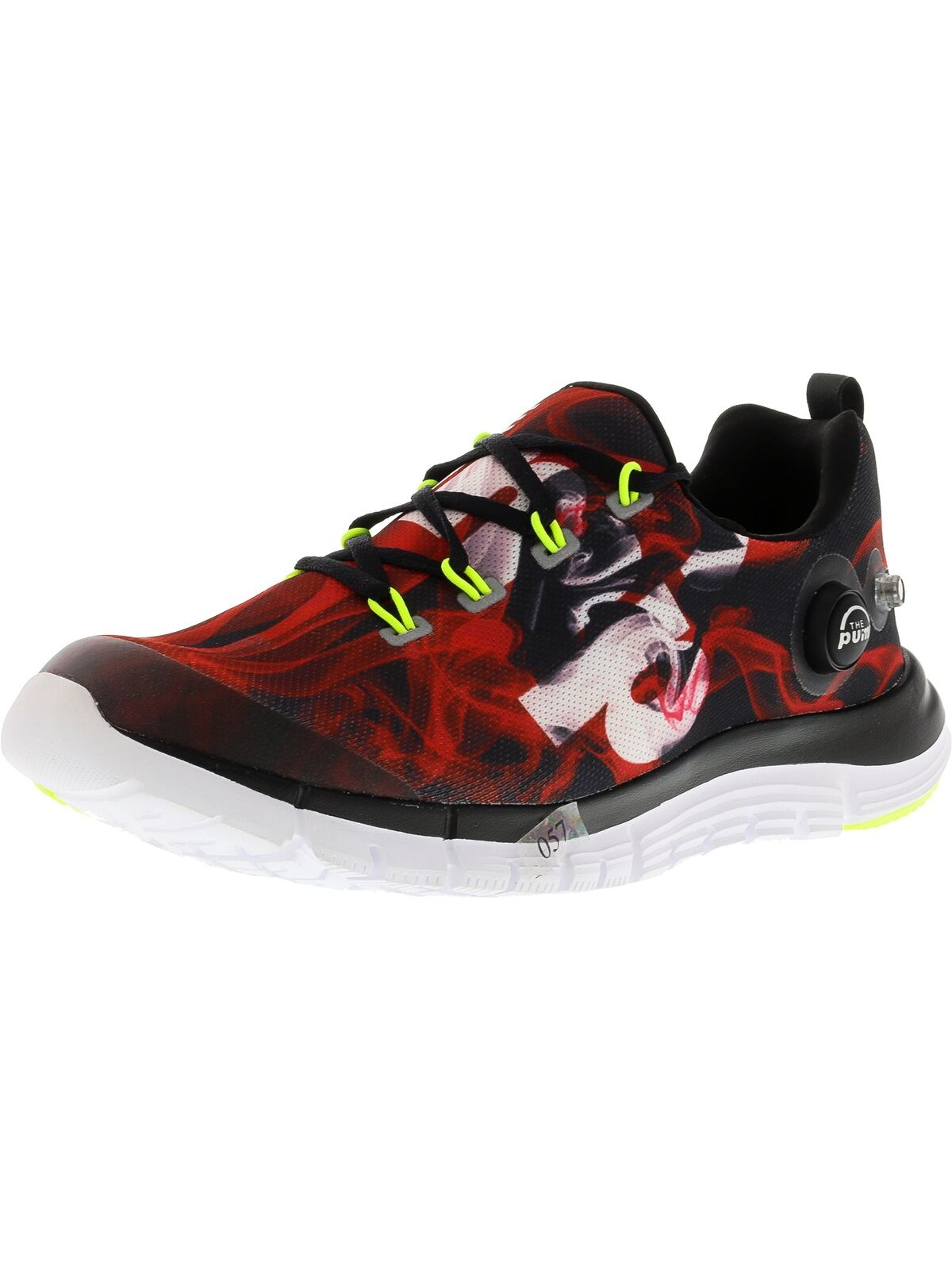 Reebok Men's Z Pump Fusion Flame Ankle-High Fabric Running shoes