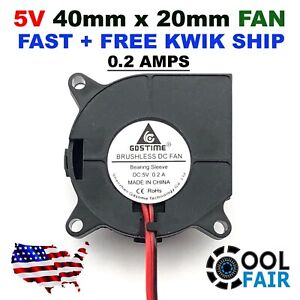 5v-40mm-DC-Blower-Fan-4020-40x40x20mm-Turbo-Exhaust-Cooling-3D-Printing-2-Pin