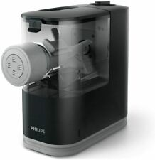 Philips Compact Pasta Maker, Viva Collection, HR2371 Black + HR2481 Accessory
