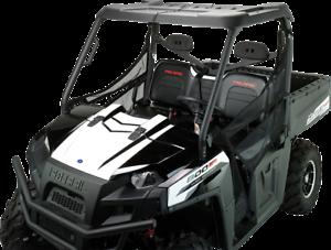 Moose Utility Utv Black 2 Seater Roof 10 18 Polaris Ranger 1028 570 700 800 6x6 Ebay