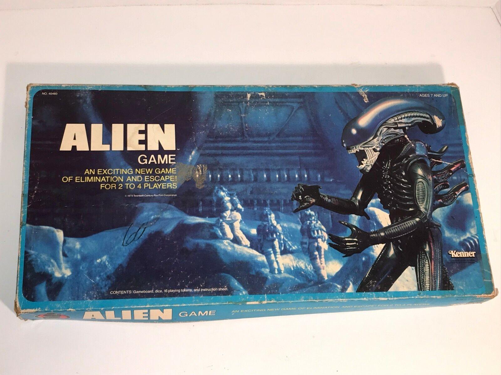 Alien board game Kenner 1979 SCARCE near complete
