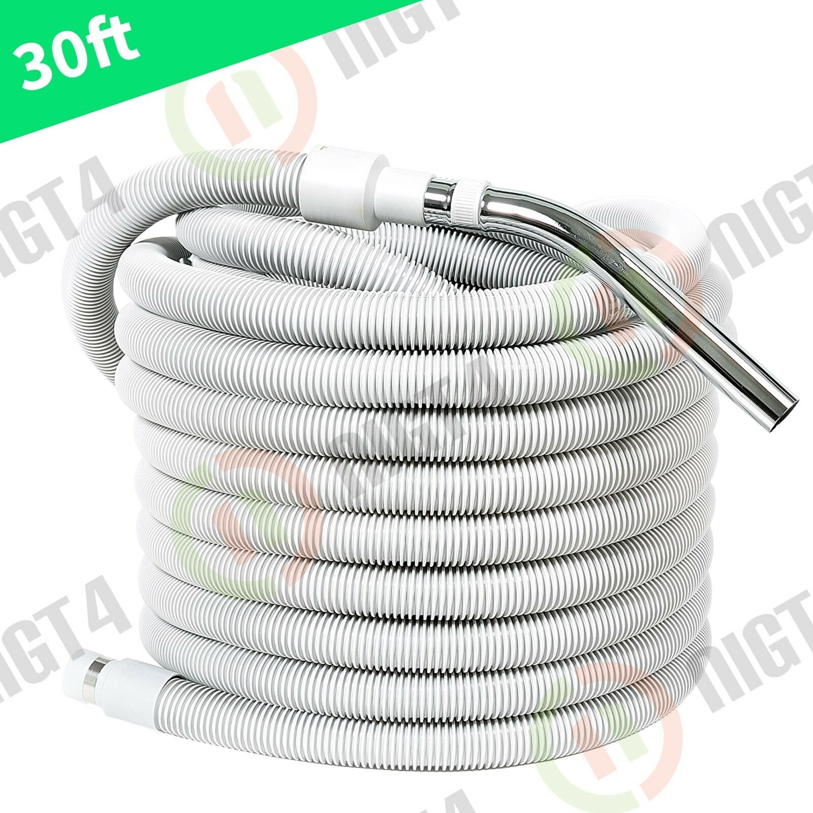 FREE SHIPPING Aspirateur Central Vac Vacuum 30' Hose Crush-Proof Non-Electric