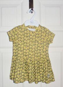 Bnwt New Bonnie Baby London Panda Organic Cotton Baby Girl Dress 3
