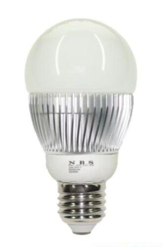 MARSWAY E27 LED Leuchtmittel Birne 6 Watt Warmweiß Glühlampe Glühbirne 420 Lumen