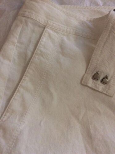 droit Eileen 4 Pantalon blanc Fisher Nouveau 8qwB7xW