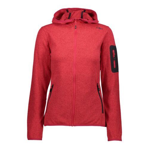 CMP Damen Fleecejacke Woman Jacket Fix Hood 39H5496