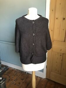 Lovely Wool Mix Cardigan By Fat Face Size 12