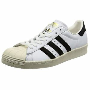 buy popular 2df6c d187c Image is loading Adidas-Superstar-80s-Footwear-White-Core-Black-Mens-
