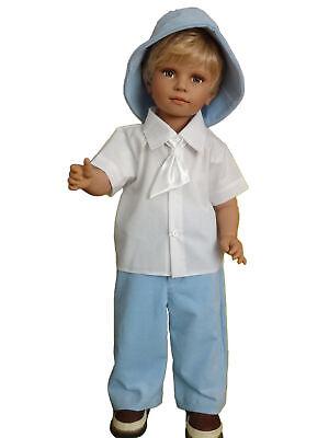 Festanzug Taufanzug Baby Junge Kinder Hochzeit Anzüge 4tlg Weiß Blau Marek | eBay