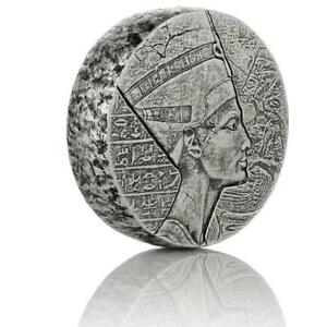 2017-5-oz-Egyptian-Nefertiti-Silver-Coin-999-Silver-BU-A439