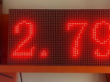 Double Sided Outdoor Programmable Led Sign 2 Color Rg P10mm 125 X 2525 Usb