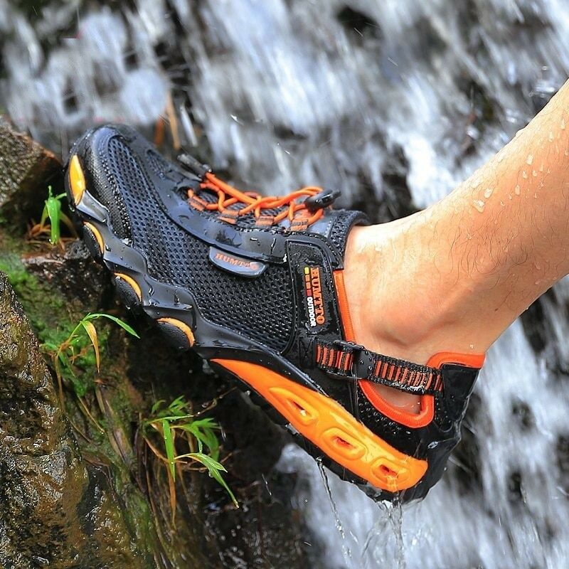 Men Mountain Climbing Hiking shoes Women Waterproof Boots Sport Outdoor Sneakers
