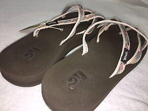 4b2485f9fe71 Teva Olowahu Mush Flip Flops Sandals Women s Thongs Multiple Colors ...