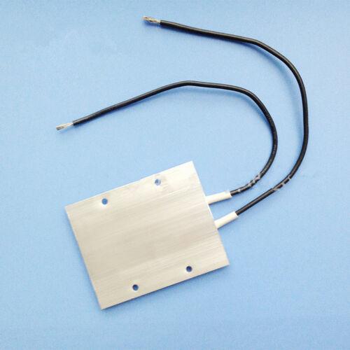 Calentador PTC termostato placa 12//24//110//220V 77*62 CARCASA de aluminio de aislamiento 1 un