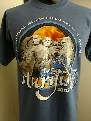 STURGIS 2013 OFFICIALLY LICENSED BLACK HILLS MOTOCYCLE RALLY T SHIRTS