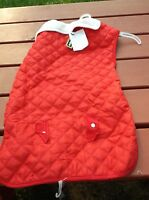Pup Crew Red Dog Coat Xxxl 31 - 36 Inches