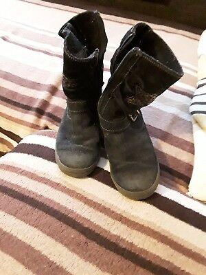 Winterstiefel Stiefel von Richter für Mädchen in schwarz Größe 34