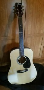 Ariana By Aria Acoustic guitar With Soft shell Case