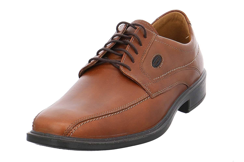 Jomos zapato bajo en talla extragrande grandes zapatos caballero marrón XXL