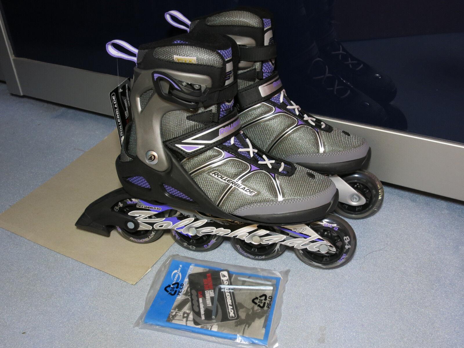Rollerblade Macroblade 84 Alu LILA LILA Alu Skates Inliner Größe 42,5 NEU  k2 NP 179,95 a54b13