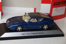 STARTER FERRARI 456 GT BLEU 1/43