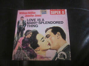 LOVE-IS-A-MANY-SPENDORED-THING-SUPER-8-COLOUR-SOUND-400FT-CINE-FILM-8MM-HOLDEN