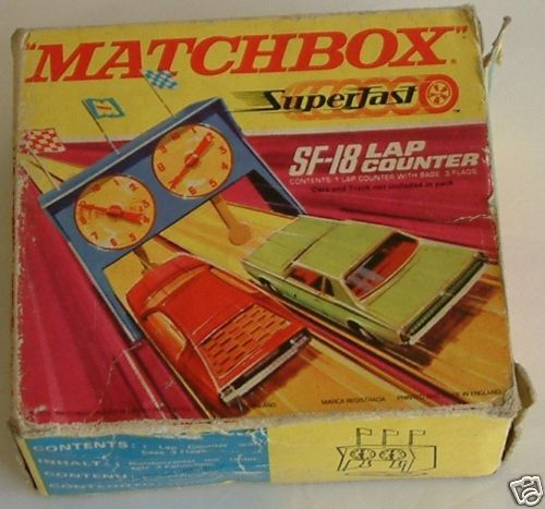 MATCHBOX  superfast sf-18 compte-tours