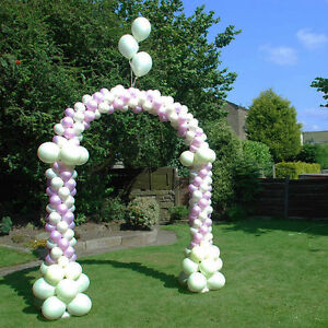 GARDEN WEDDING, EVENT DECORATION Walk Through Balloon Arch Frame 1.7 ...