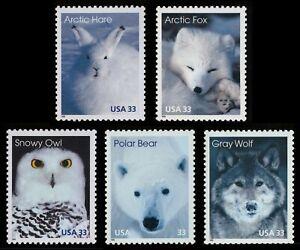#3288-3292 33c Ártico Animales, Individuales, Nuevo Cualquier 5=