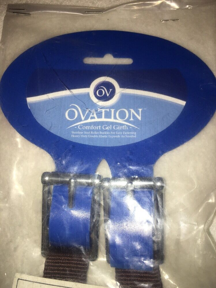Ovation Comfort Gel Chafeless Girth Size 44  Brown Horse Equestrian